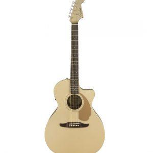 fender california newporter player acoustic electric guitar